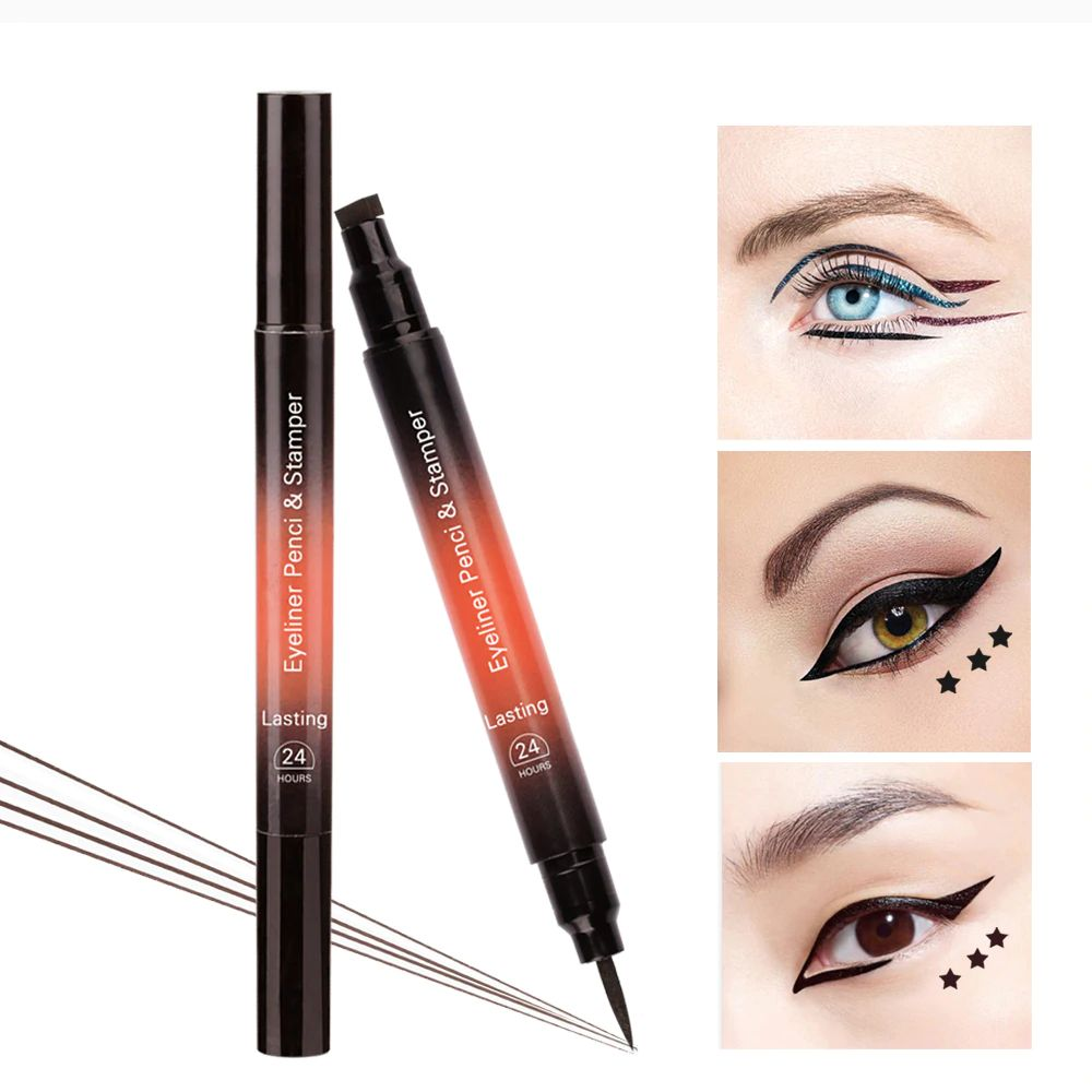 Lulaa 24 Hour 2-in-1 Eyeliner Pencil & Stamp