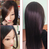 "Mannequin Head For Hair Training (25"" - Dark Brown)"