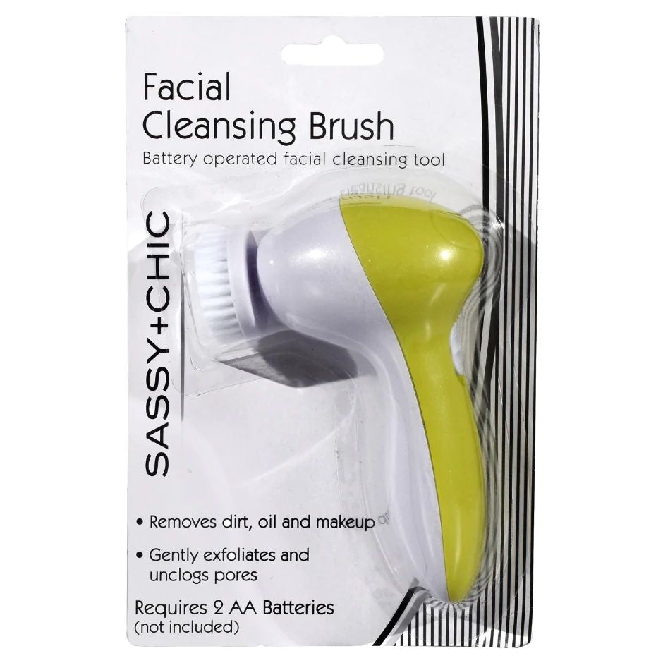 Sassy + Chic Battery Operated Facial Cleansing Brush