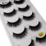 SHIDISHANGPIN Fashion Eyelashes 5-Pack