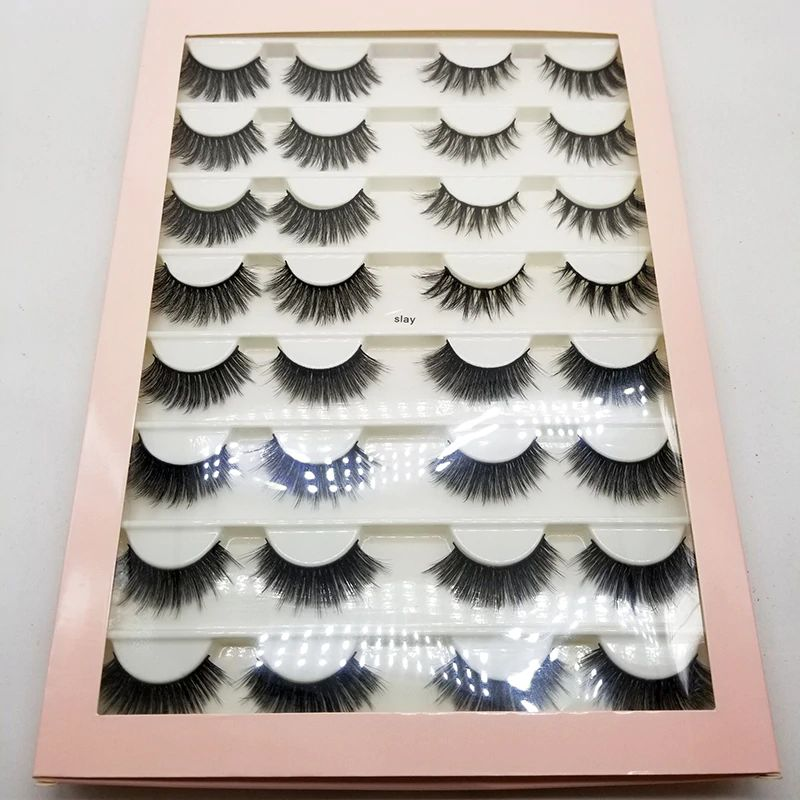 Slay Lashes 16-Pair Eyelash Book Set