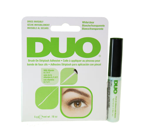Duo Brush-On Eyelash Adhesive Glue (Clear)