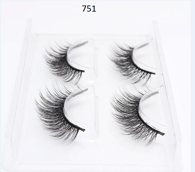 Duomeijie 3D Beautiful Eyelashes 2-Pack