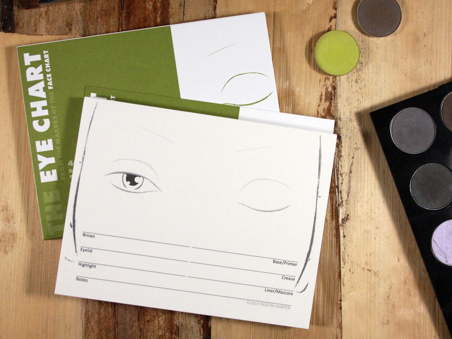 The Face Chart Brand Eye Chart Book