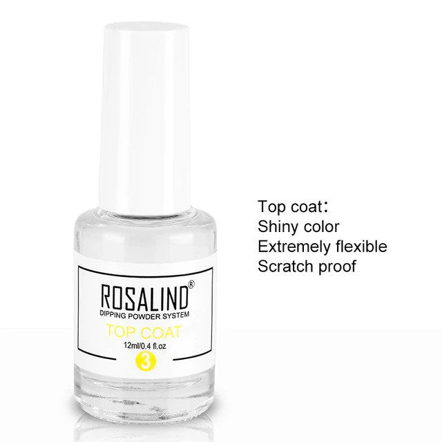 Rosalind Nails Dipping Powder Top Coat