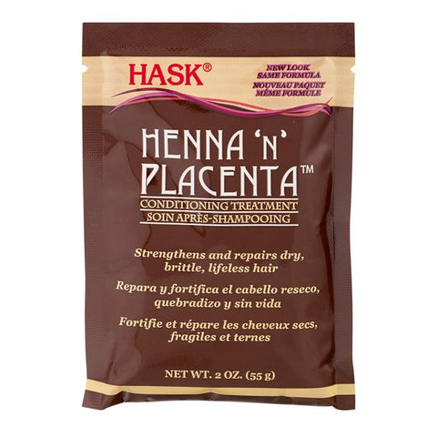 Hask Henna 'n' Placenta Conditioning Hair Treatment