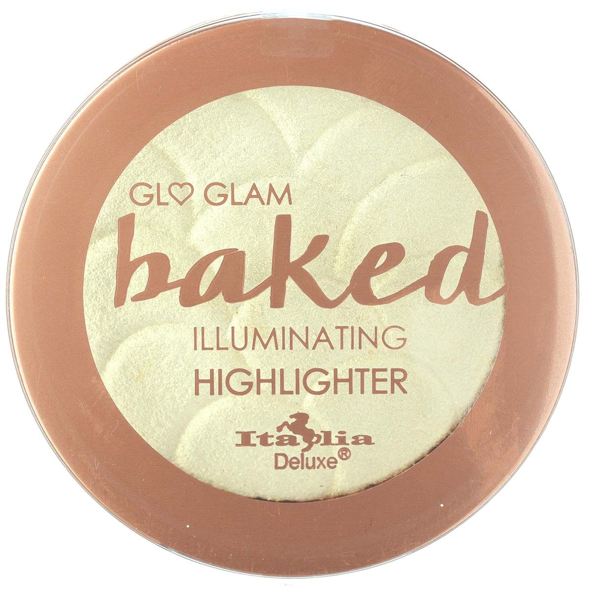 Italia Deluxe Glo Glam Baked Illuminating Highlighter