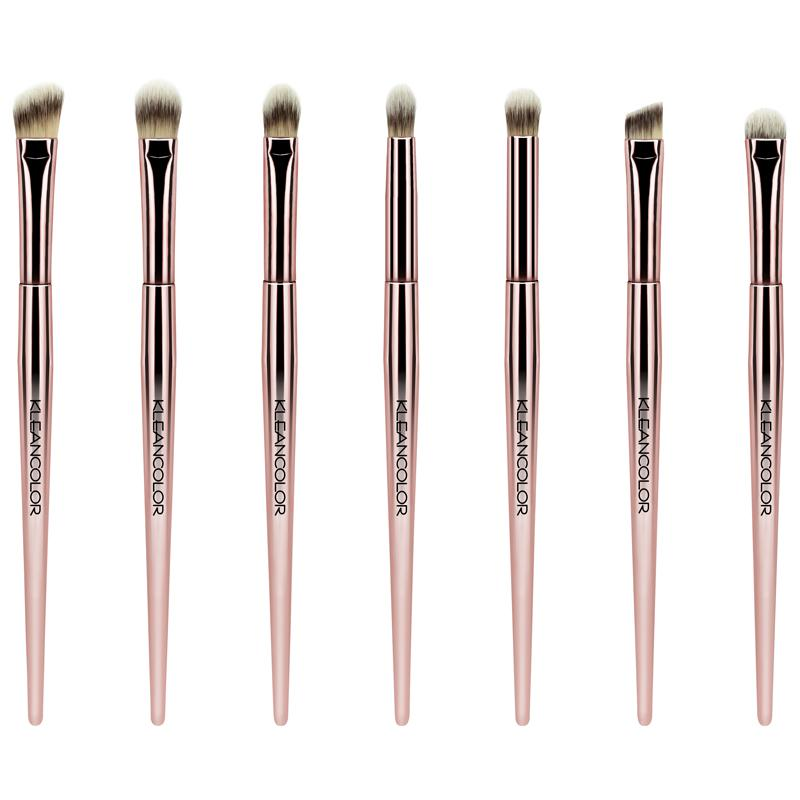 KleanColor Stop & Smell The Roses 7-Piece Eye Brush Set