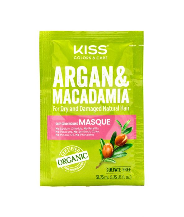 Kiss Argan & Macadamia Deep Conditioning Hair Masque