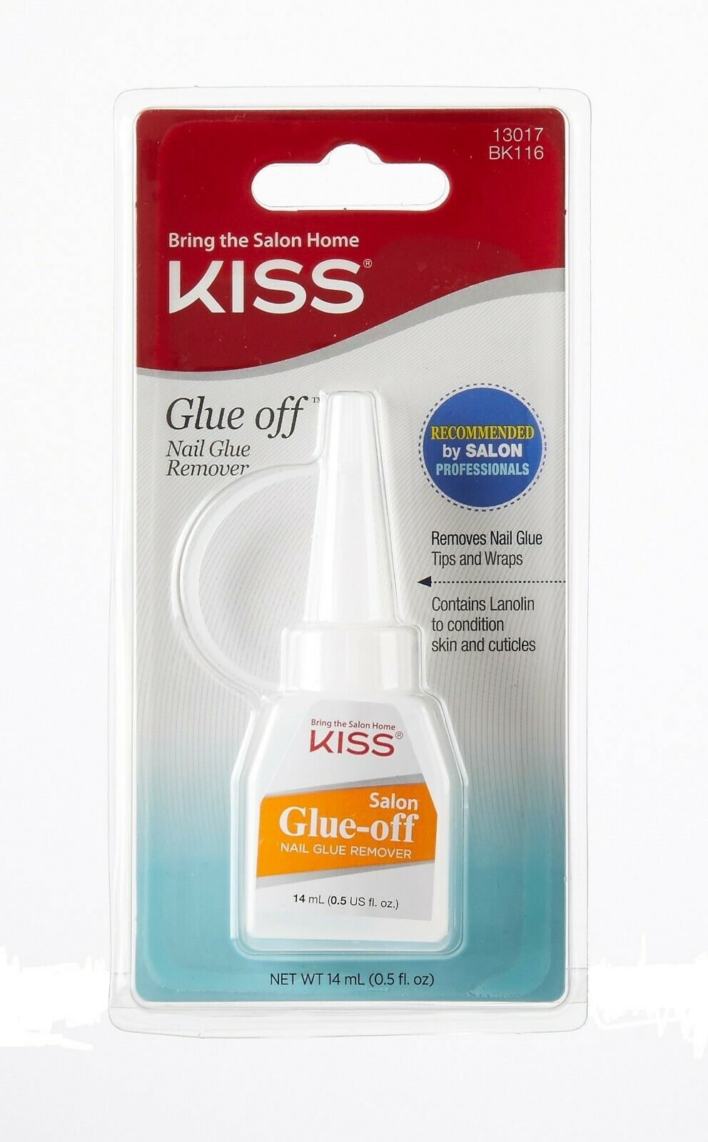 Kiss Glue Off Nail Glue Remover