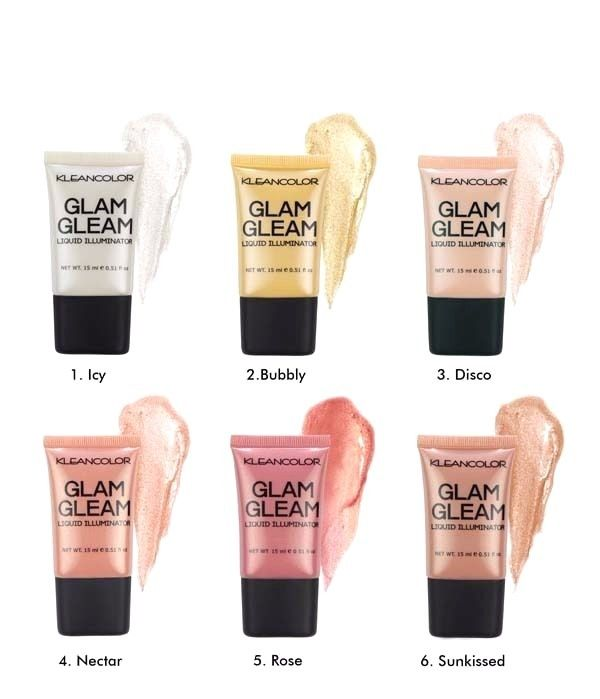 KleanColor Glam Gleam Liquid Glow Illuminator