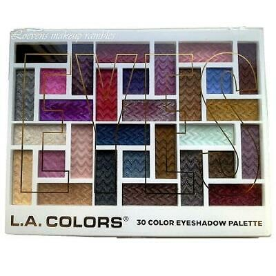 L.A. Colors 30 Color Eyeshadow Palettes
