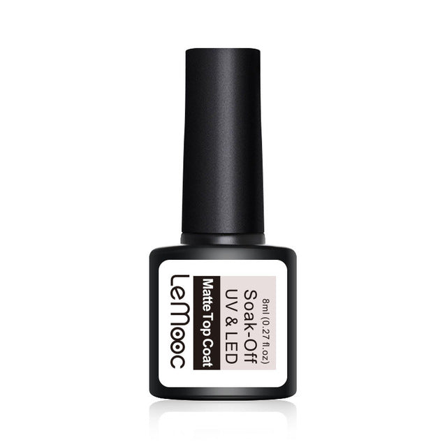 LeMooc Nails UV / LED Matte Top Coat (8ml)