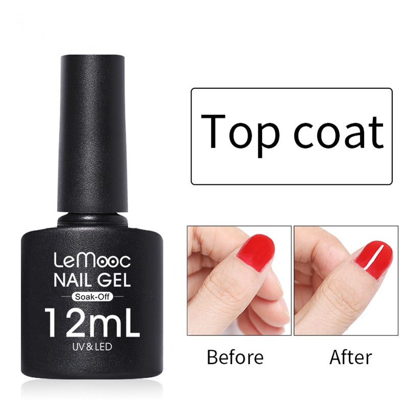 LeMooc Nails UV / LED Top Coat (12ml)