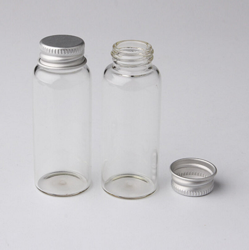 Crafter's Square Mini Glass Containers 4-Pack (17ml)