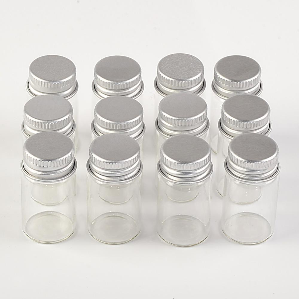 Crafter's Square Mini Glass Containers 5-Pack (6ml)
