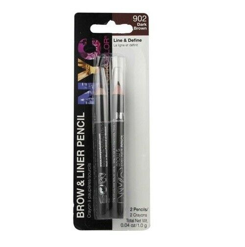 NYC Brow & Eyeliner Pencil 2-Pack