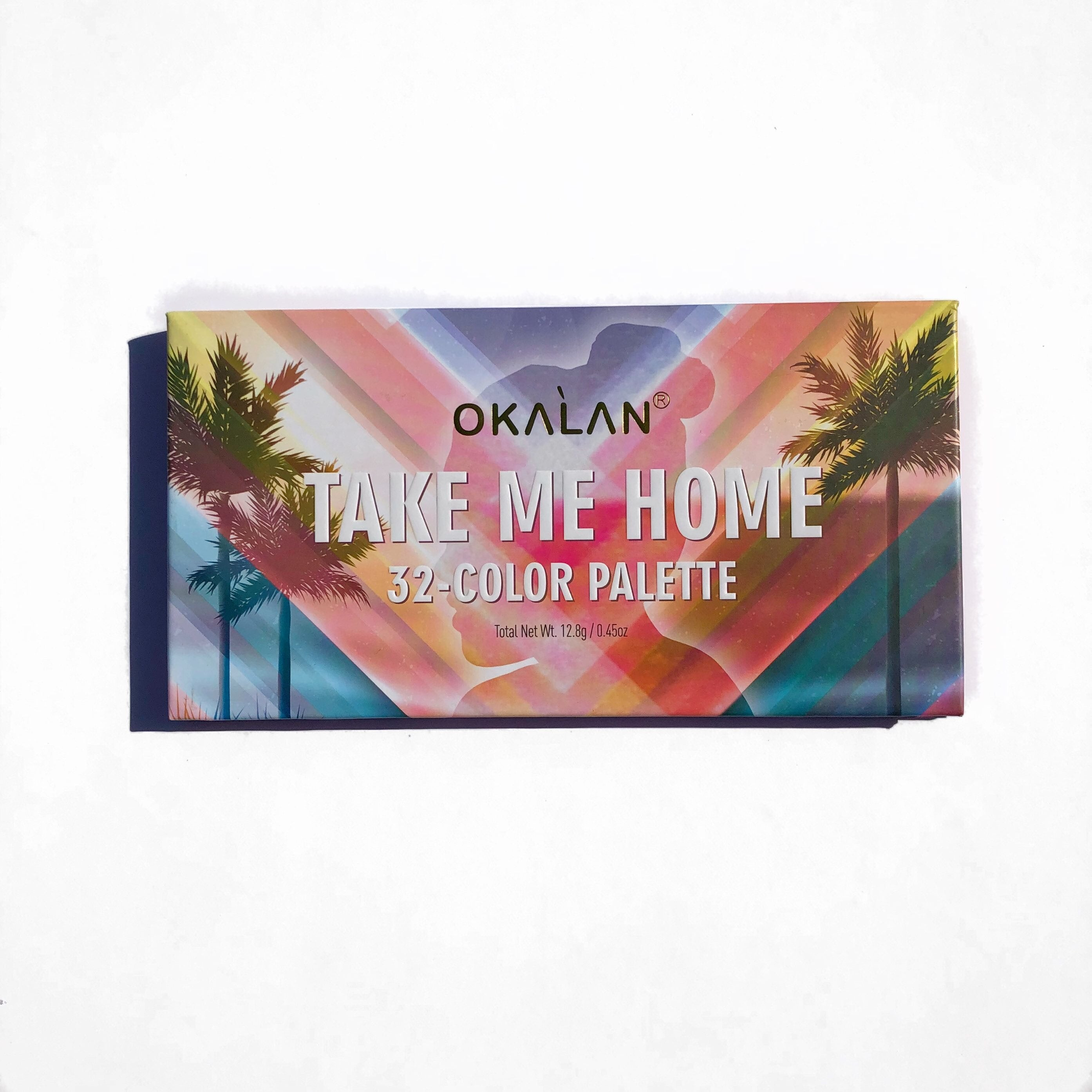 Okalan Take Me Home Eyeshadow Palette