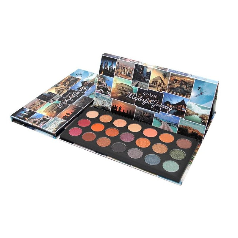 Okalan Wonderful Journey Eyeshadow Palette