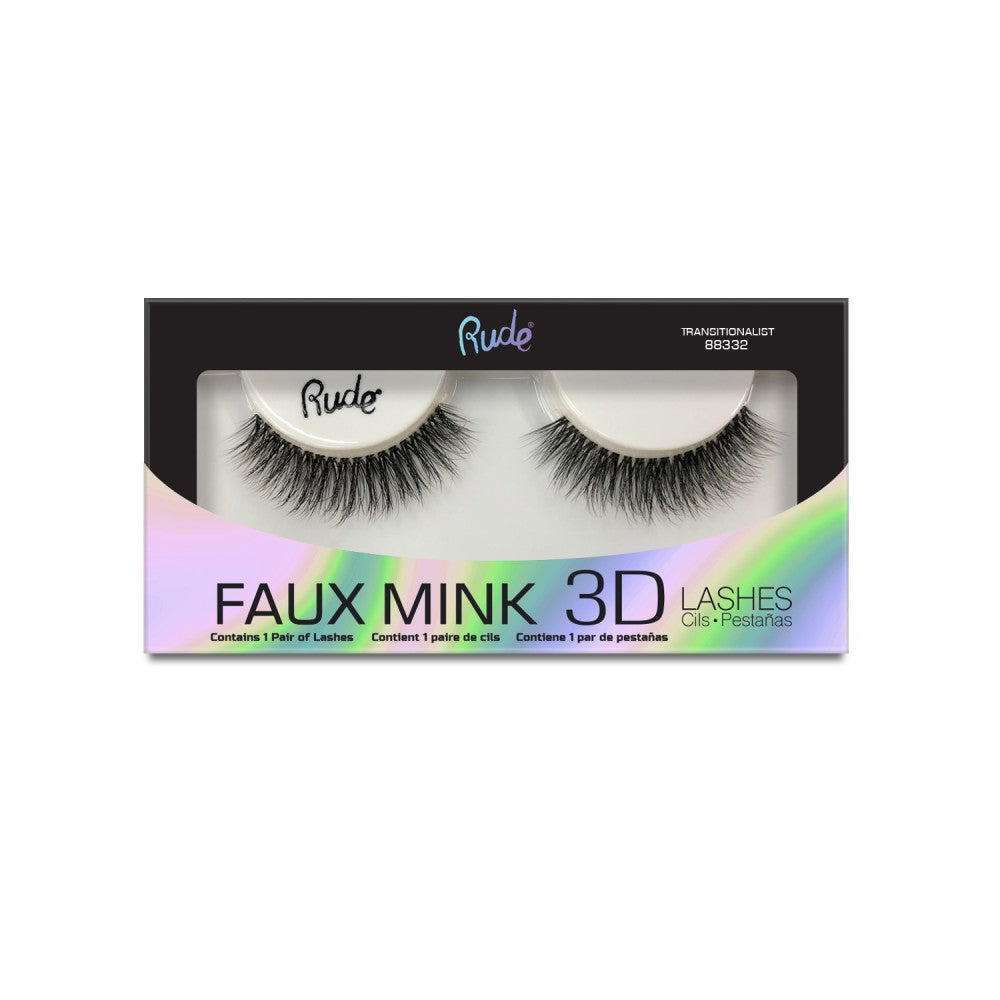 Rude Cosmetics Faux Mink 3D Lashes
