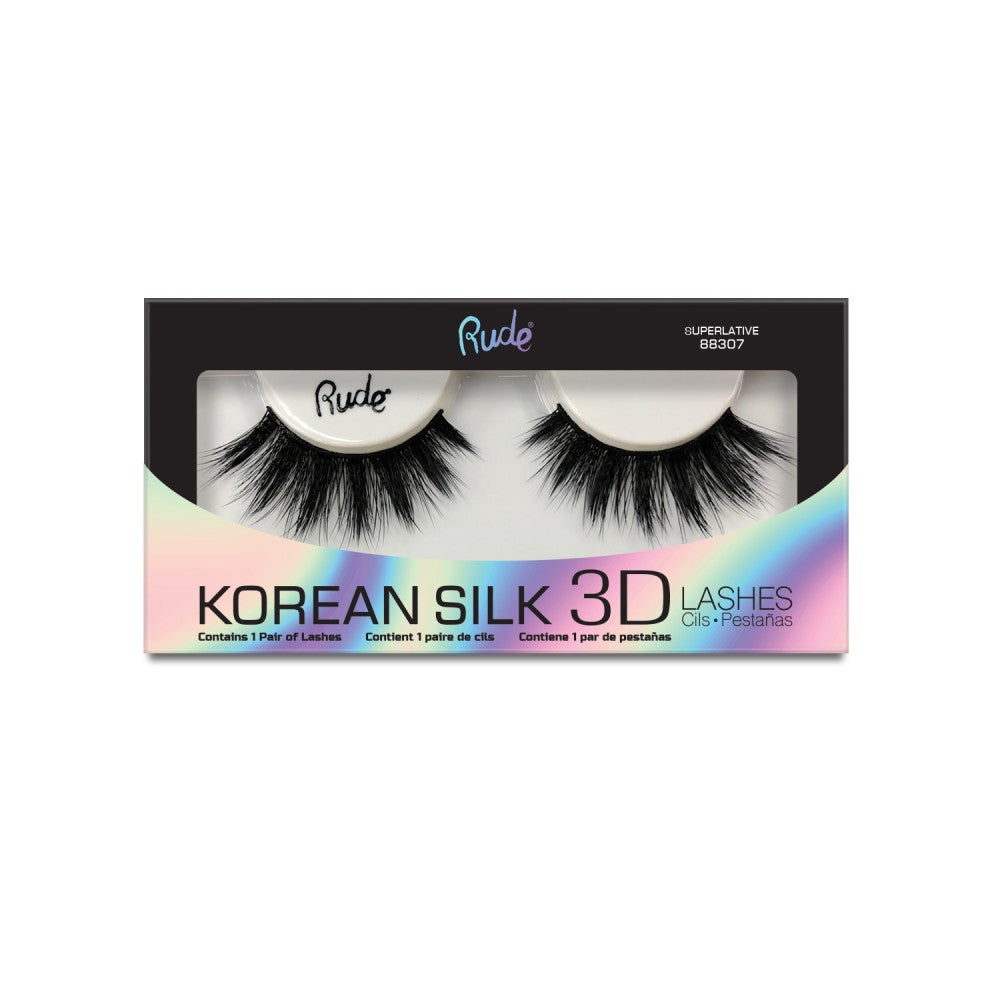 Rude Cosmetics Korean Silk 3D Lashes
