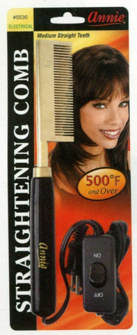 Annie Electric Straightening Comb