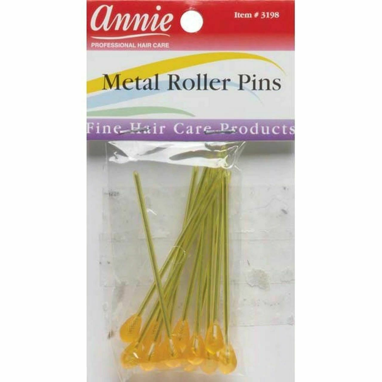 Annie Metal Roller Pins (12-Pack)