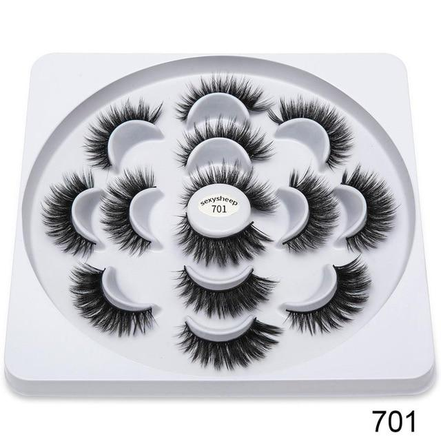 sexysheep Sensational Eyelash Flower Book (7 Pair)