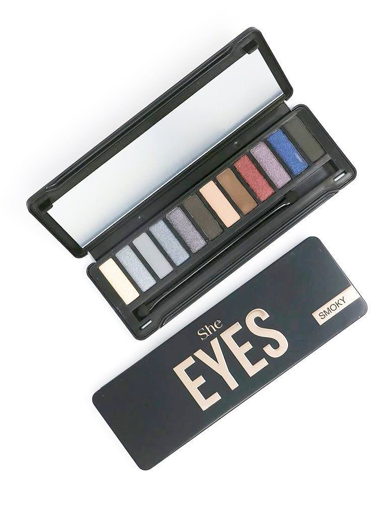 S.he Makeup Smoky Eyes Eyeshadow Palette
