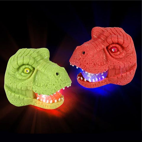 Dino Light-Up LED Squeeze Head