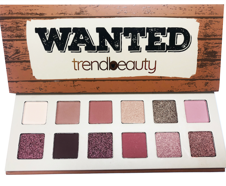 trendbeauty Wanted Eyeshadow Palette