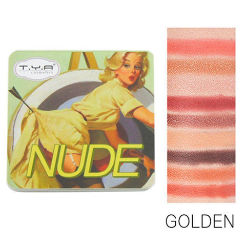 TYA Nude Golden Eyeshadow Mini Palette