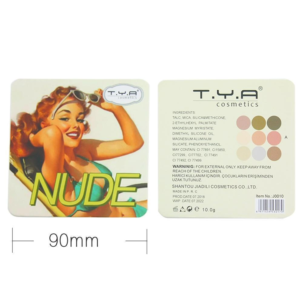 TYA Nude Pumpkin Eyeshadow Mini Palette