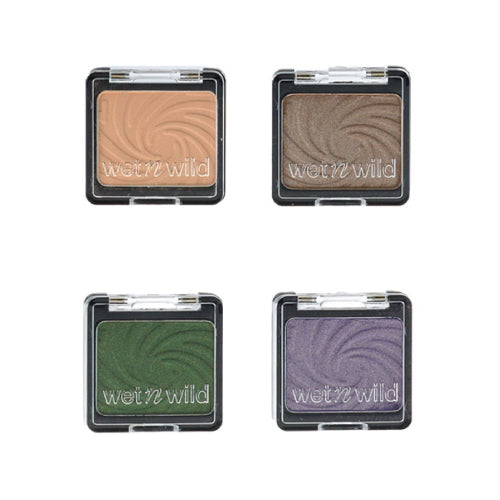 Wet n Wild Color Icon Matte & Glitter Eyeshadow Singles