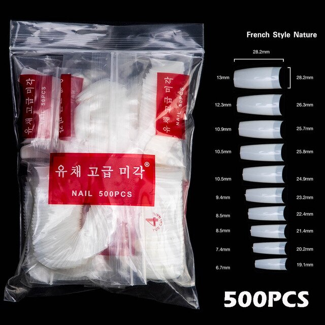 Yue Cai Acrylic Nails 500-Packs