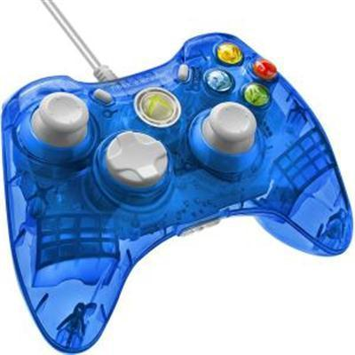 Rc Wired Controller Xb360 Blue