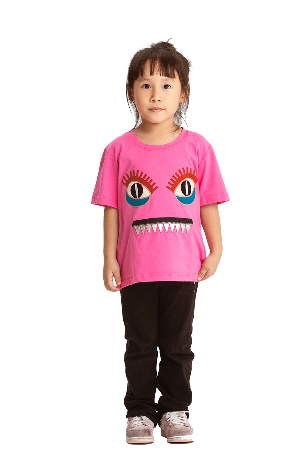 Little Mons T-Shirt for Kids - Pink