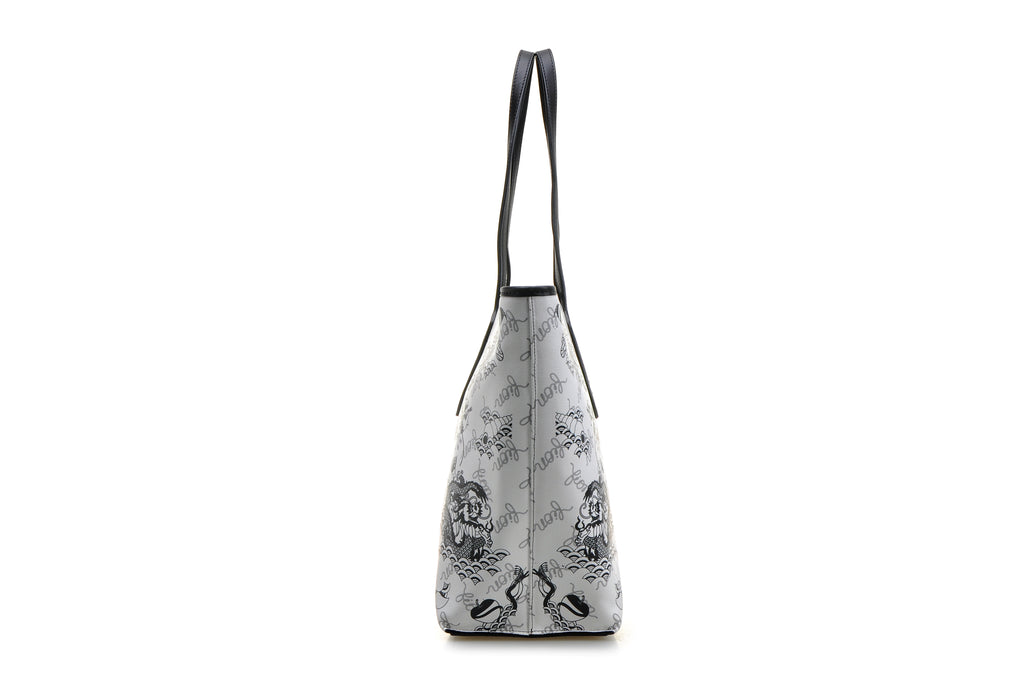 Zhishi Leather Tote Handbag