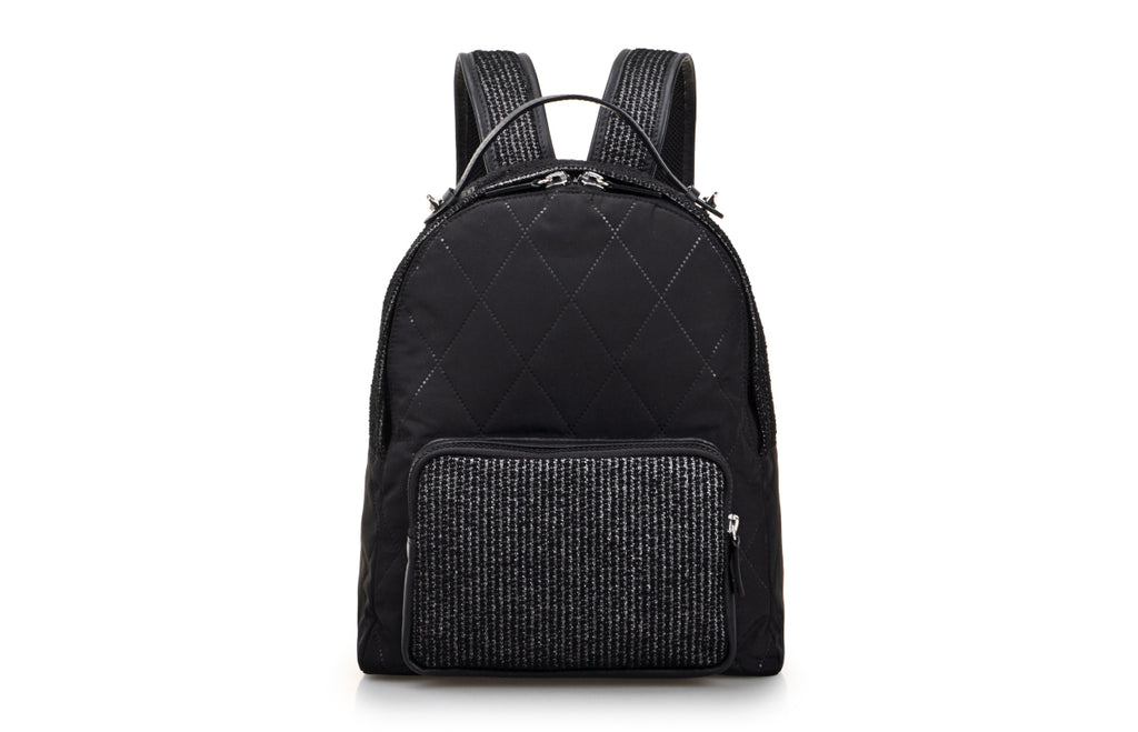 Sonta Jacquard with Leather Backpack