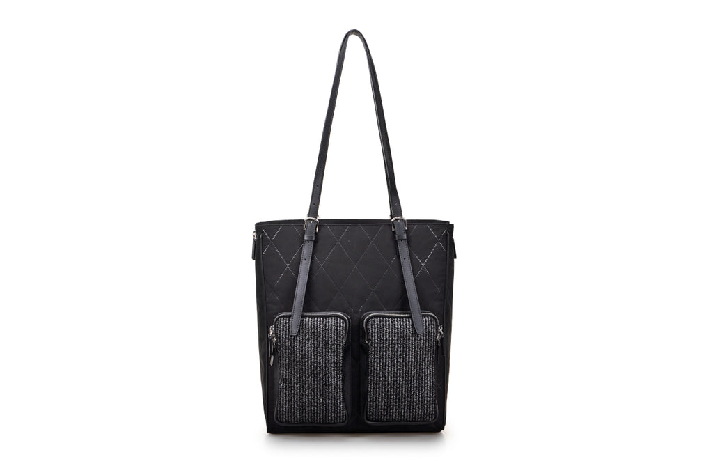 Sonta Jacquard with Leather Tote Bag