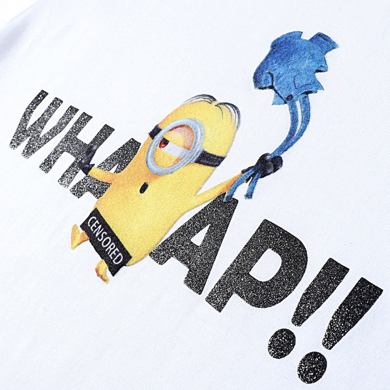 Minions T-Shirt for Adults - White
