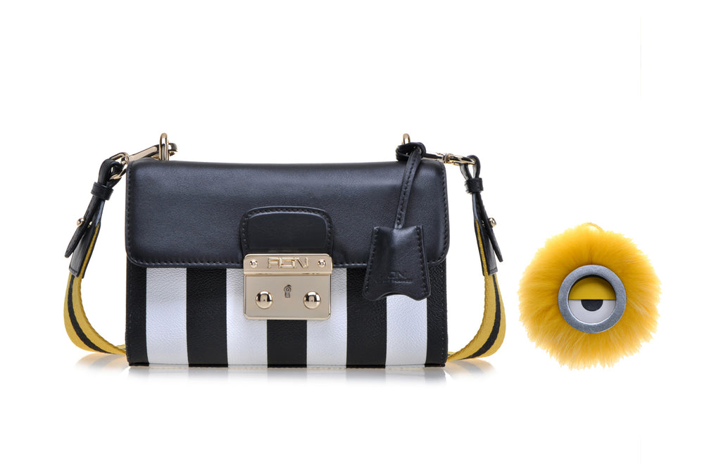 Minions PVC with Leather Crossbody & Shoulder Bag