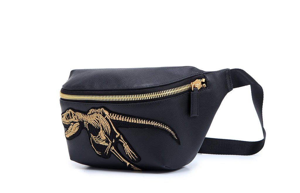 FION X Jurassic World Leather Zip Pocket Bag