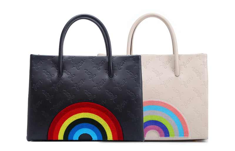 Rainbow Life Top Handle Handbag