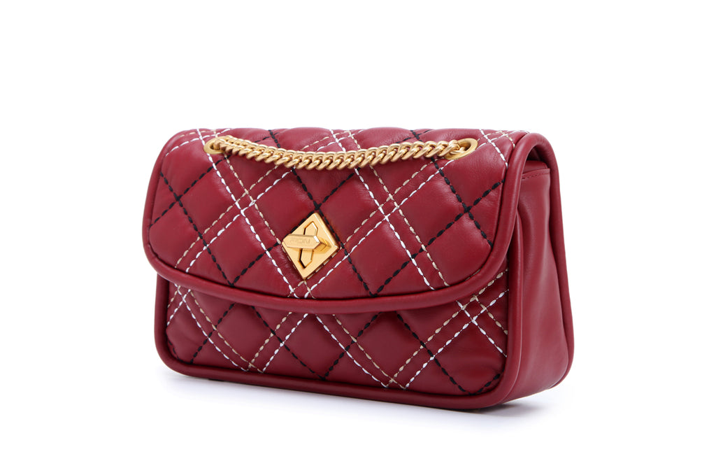 Colorful Sugar Leather Crossbody & Shoulder Handbag