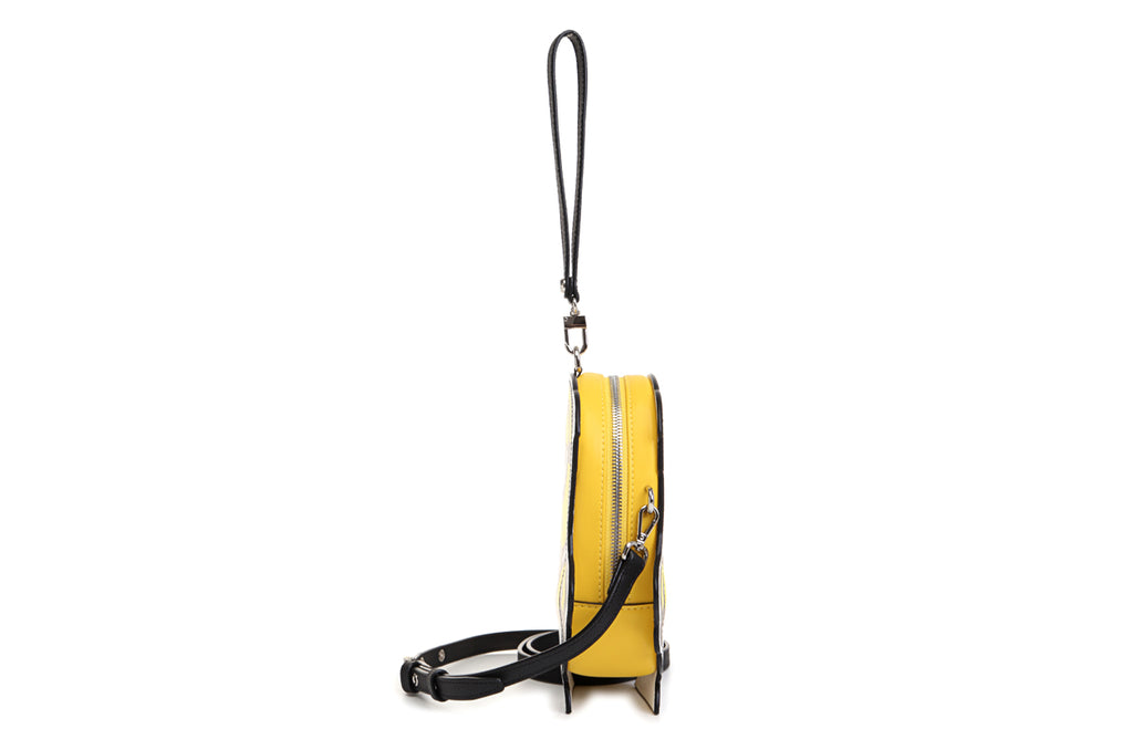 Minions PVC with Leather Clutch