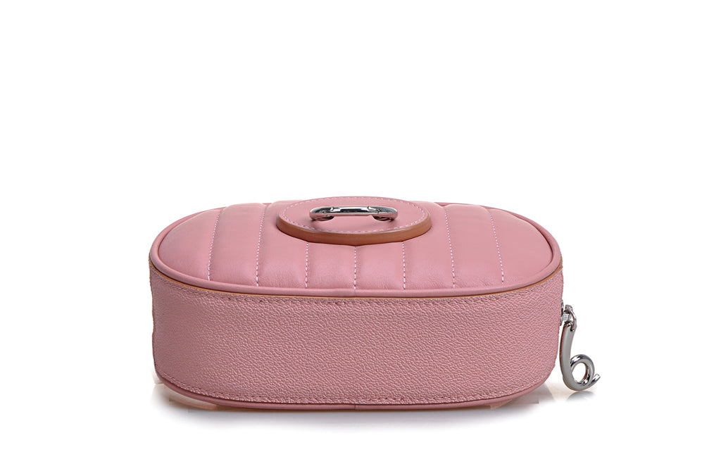 Piggy PVC with Leather Waist Bag