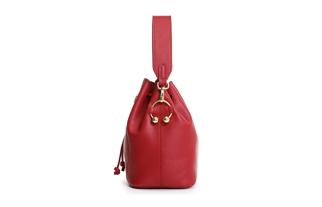 Piggy Leather Crossbody & Shoulder Handbag