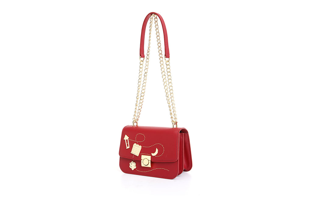 Paw Paw Leather Crossbody & Shoulder Handbag