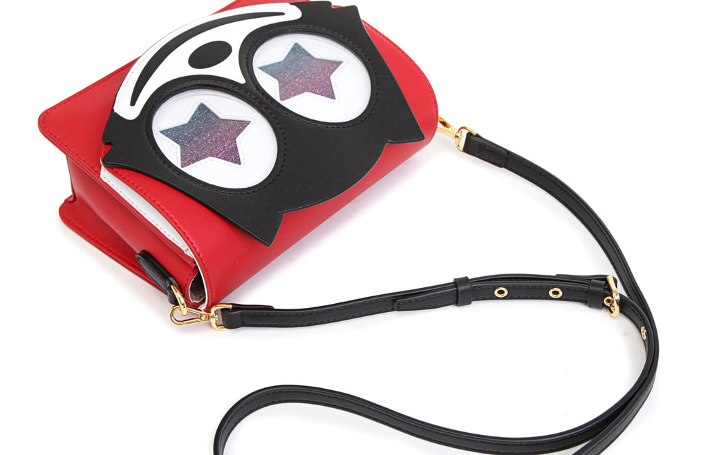 """Felix The Cat"" 100th Anniversary Faux Leather Crossbody & Shoulder Handbag"